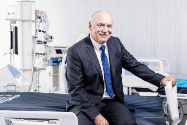 Český výrobce nemocničních lůžek dosahuje vUSA tržby kolem 50 milionů dolarů. Podle zakladatele Linetu Zbyňka Frolíka chce firma natamním trhu dále růst.