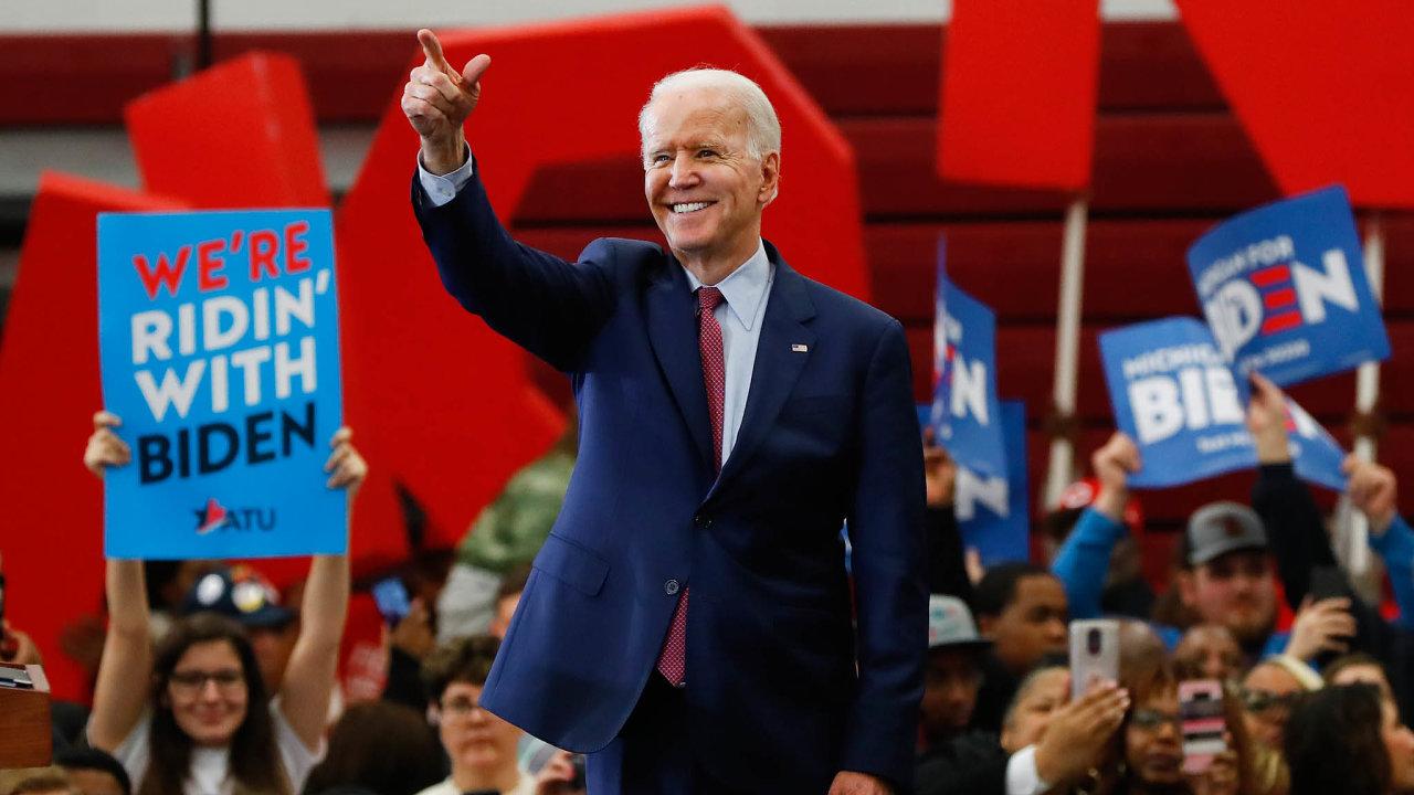 Senzační comeback: Poneúspěšných pokusech vletech 1988 a2008 bude současná prezidentská kandidatura Joea Bidena tou