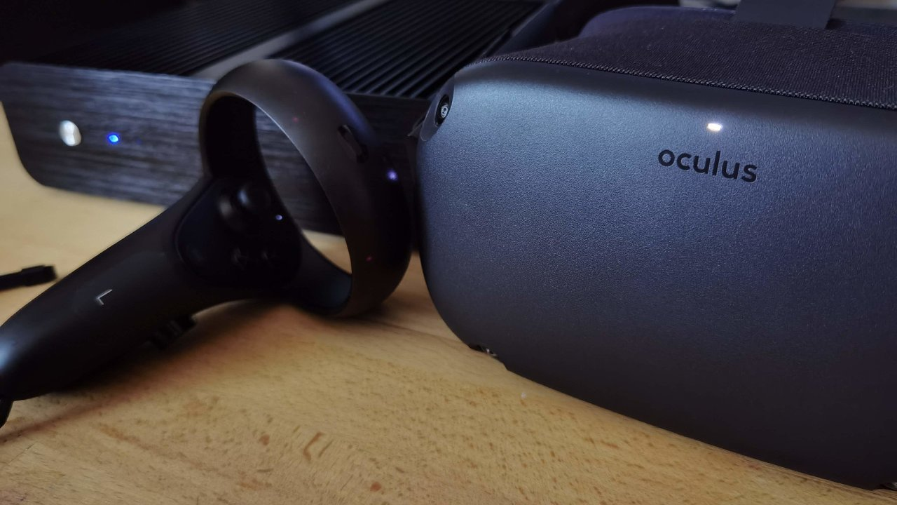 Oculus Quest vypadá díky tkanině na povrchu přátelštěji než konkurence