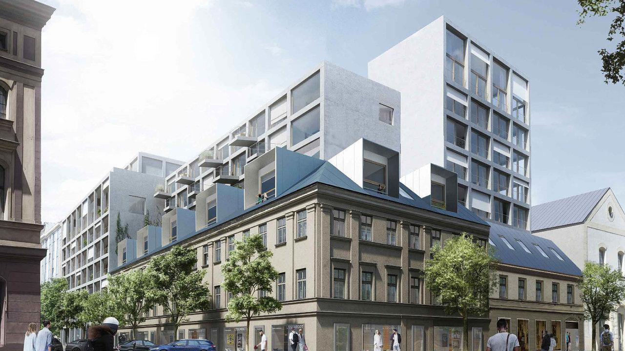Nájemní byty vKarlíně. Stavba Tulipa Karlín, která vyroste ustanice metra Křižíkova, má být pilotním projektem developera AFI Europe voblasti nájemního bydlení.