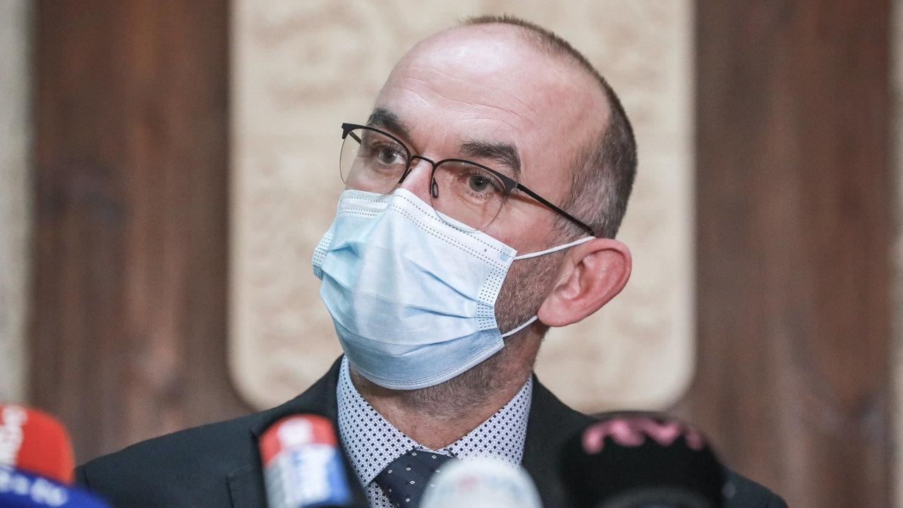 Nový ministr zdravotnictví Jan Blatný.