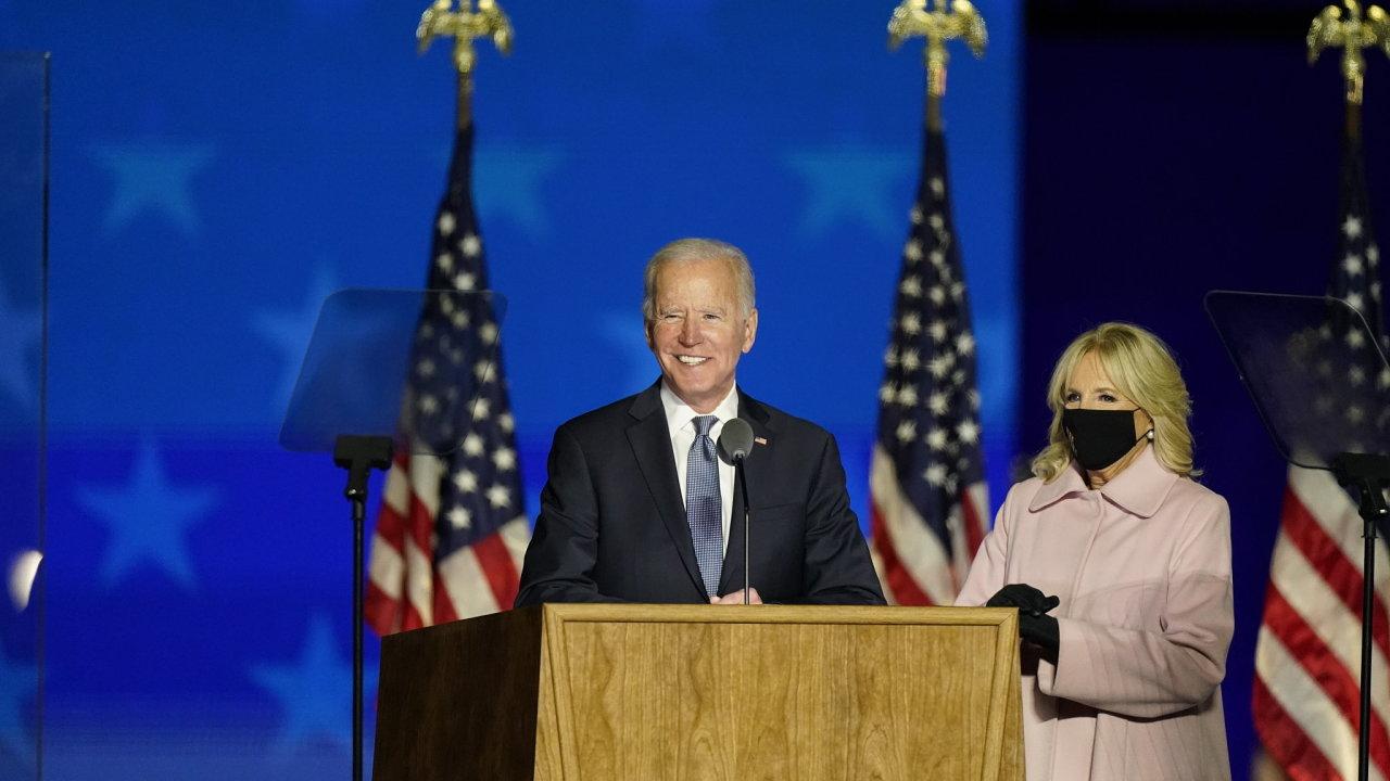 Joe Biden USA volby prezident