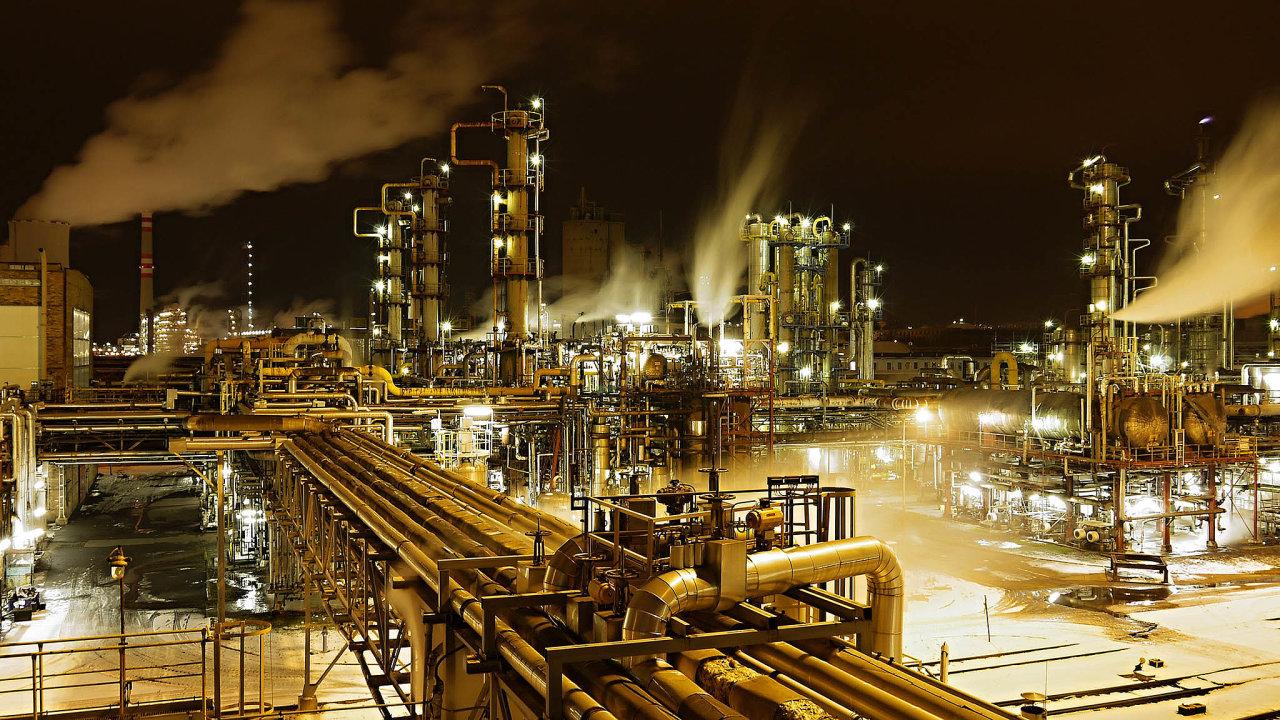 Rafinerie společnosti Orlen Unipetrol v Litvínově