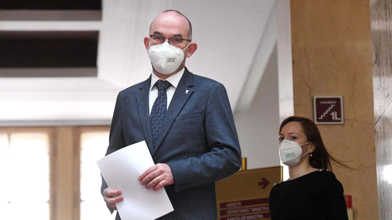 Bývalý ministr zdravotnictví Jan Blatný