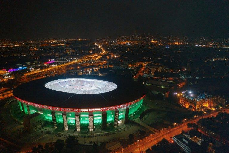 Moderní Puskás Aréna v Budapešti pro 67 tisíc diváků bude při letošním Euru plná.