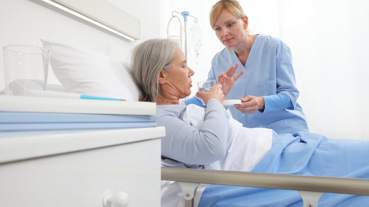 léky, pacient, nemocnice