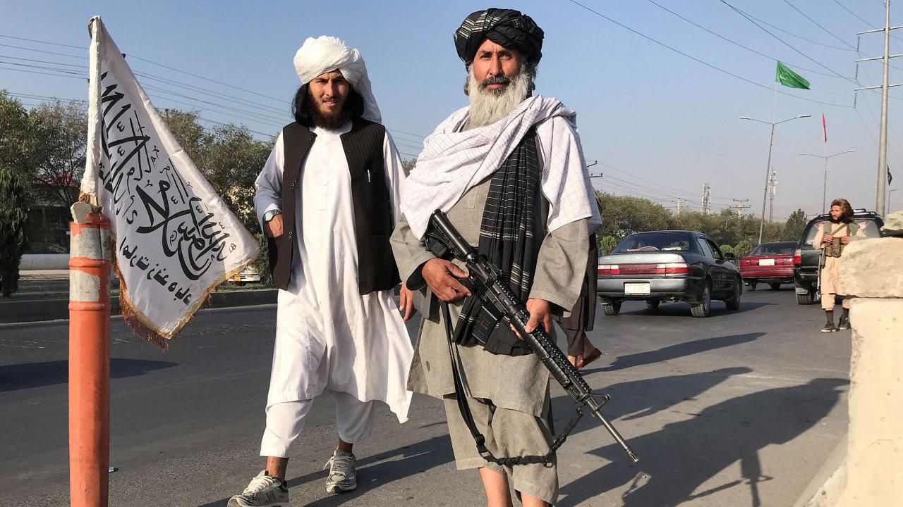 Bojovníci Tálibánu.