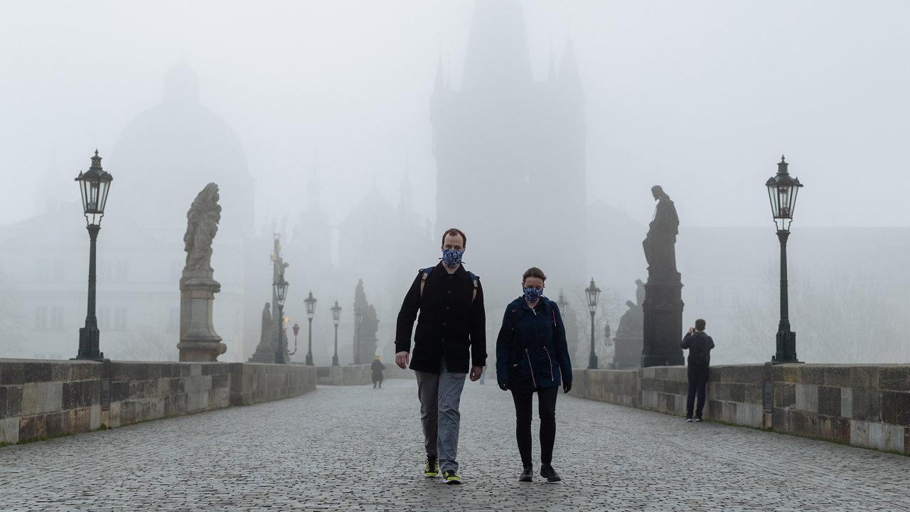 Lockdown, Praha