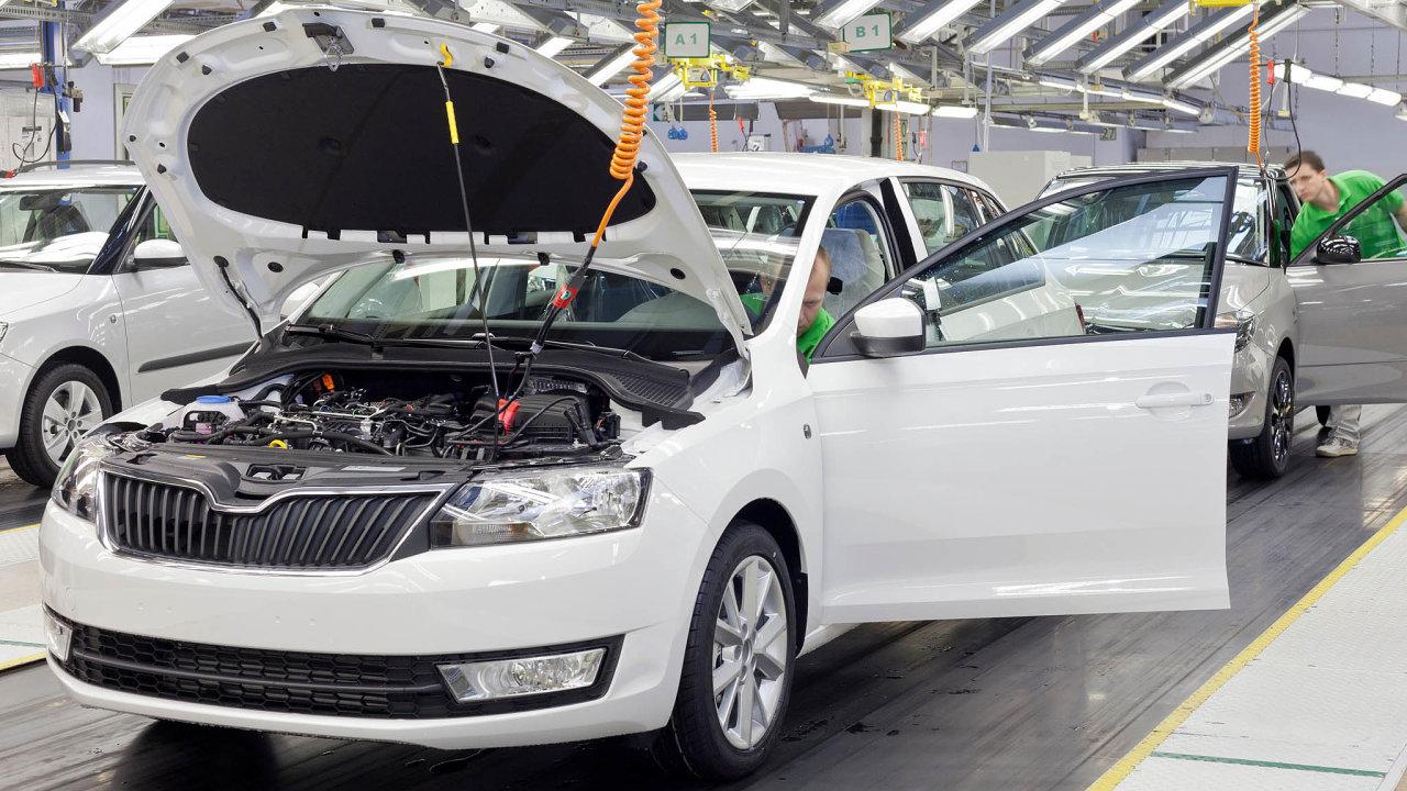 Škoda zastaví výrobu, čipy chybí inadále.