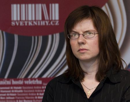 Františka Jirousová při čtvrtečním přebírání Ortenovy ceny / Foto: HN - Lukáš Bíba
