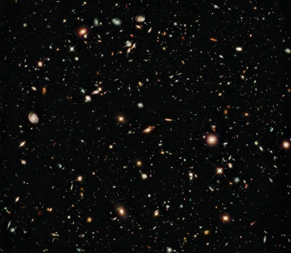 Nejhlubší vesmír, snímek z roku 2009