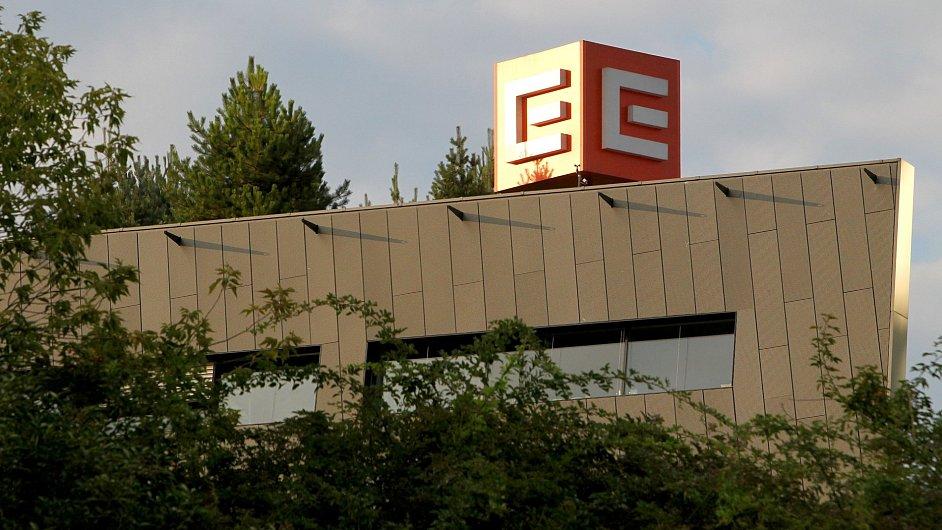 Budova ČEZ.