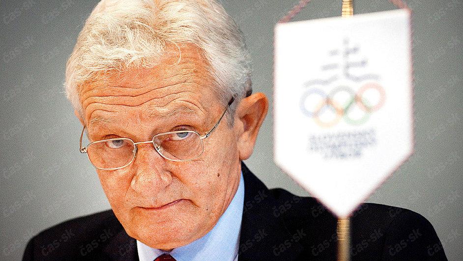 Prezident Slovenského olympijského výboru František Chmelár