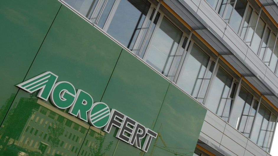 Sídlo Agrofertu v Praze - Ilustrační foto.