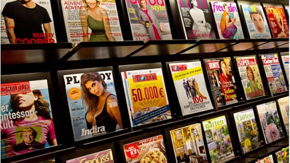 Časopisy, ilustrační foto.