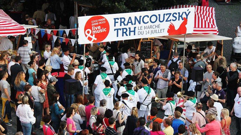 Francouzský trh se koná na pražské Kampě (ilustrační foto).