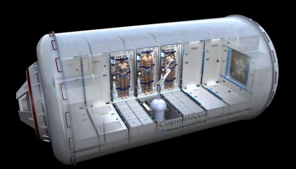 NASA připravuje pro astronauty na Mars hibernační komoru