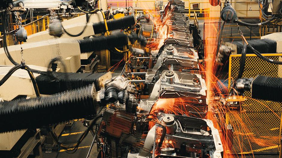 Automatizace v průmyslu (ilustrační foto)