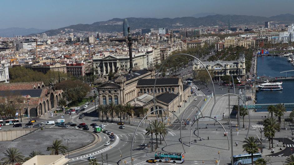 Katalánská metropole Barcelona.