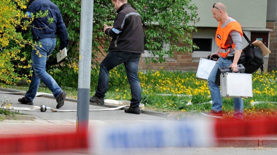 Policisté našli 28. dubna 2015 v Brně - Králově Poli velmi nebezpečný předmět - Ilustrační foto.