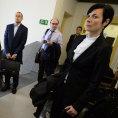 B�val� soudce Ond�ej Havl�n p�ich�z� k jedn�n� u Okresn�ho soudu v Kladn�.