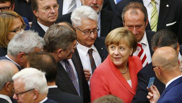 Část poslanců vládní CDU/CSU chce pro běžence uzavřít německé hranice.