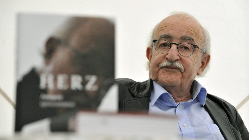 Režisér Juraj Herz představil 27. července svou životopisnou knihu na Letní filmové škole v Uherském Hradišti.