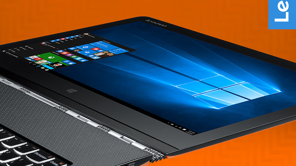 Windows 10 na notebooku Lenovo Yoga 3 Pro