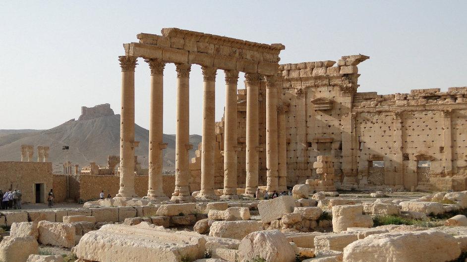 Ohrožené památky v Sýrii