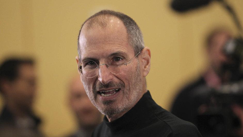 Zakladatel společnosti Apple Steve Jobs (24. února 1955 – 5. října 2011).