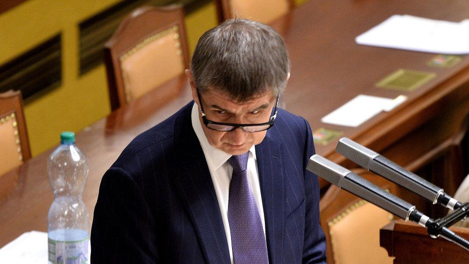 Andrej Babiš, Poslanecká sněmovna, hlasování o EET