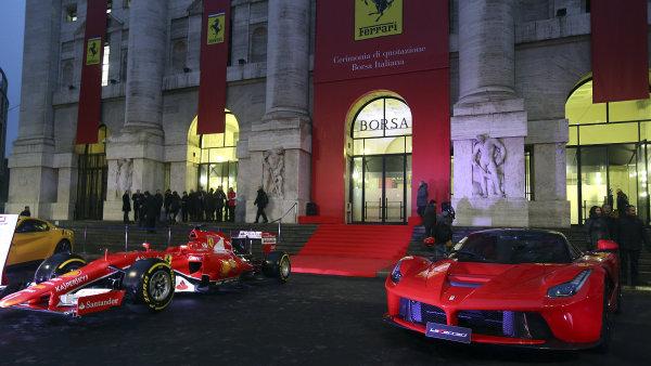 Ferrari vstoupilo na milánskou burzu.
