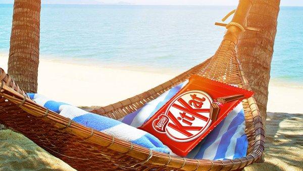 Facebooková stránka Kit Kat využívá různé motivy promování