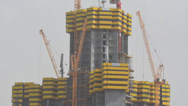 Jeddah Tower v Saúdské Arábii.