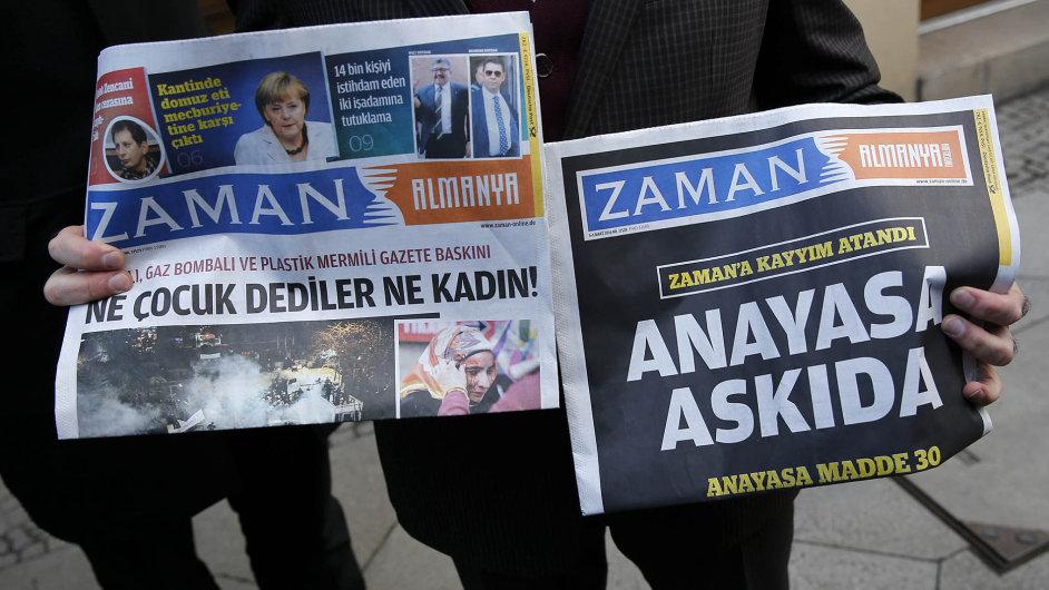 Turecký deník Zaman