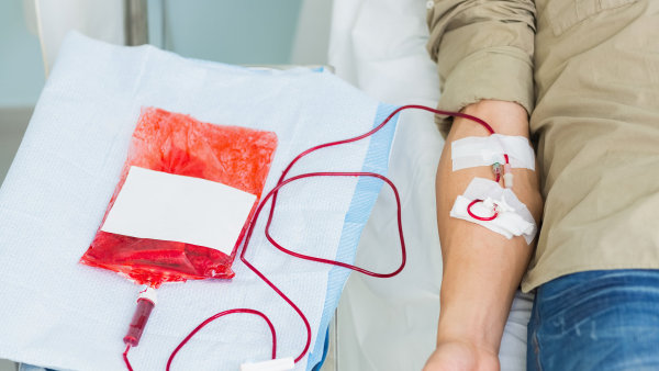 Je měsíc zdravé krve, ilustrační foto