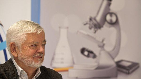 Expert na molekulární genetiku Jiří Forejt z Akademie věd ČR.