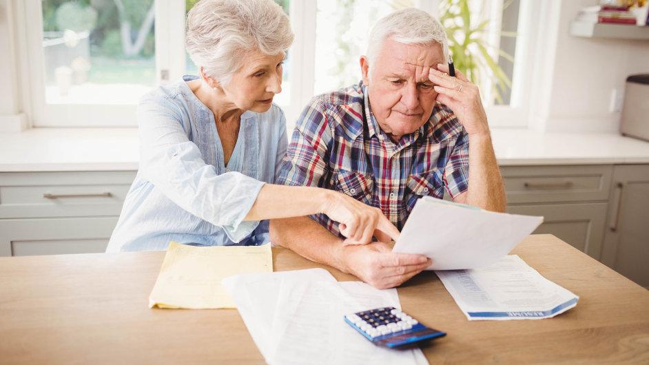 Důchod, důchodce, senior, stáří