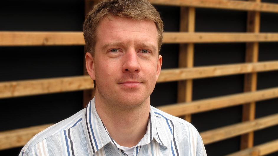 Martin Mikeska, energetický expert v Hnutí DUHA.