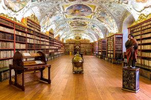 Nejkrásnější a nejobsáhlejší knihovny v Česku: Ve Strahovském klášteře mají téměř 300 tisíc svazků