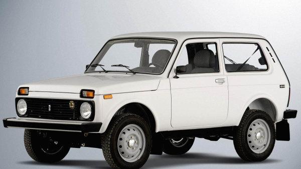 Automobil Lada Niva, později označovaný jako Lada 4x4 - ilustrační foto.