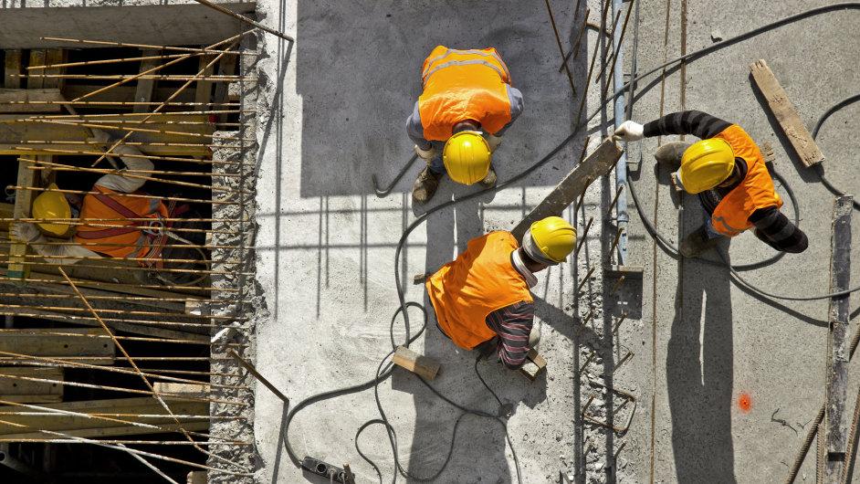 Stavebnictví - Ilustrační foto.