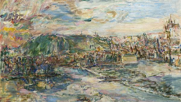 Pohled na Prahu