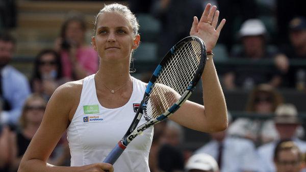 Karolína Plíšková se stala oficiálně světovou tenisovou jedničkou.