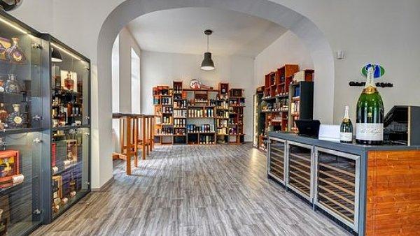 Prodejna Global Wines v Brně
