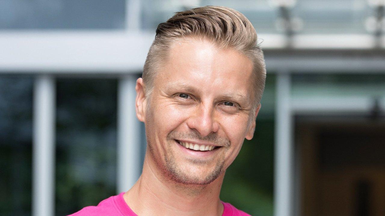 Jan Kopecký, senior manažer pro interní komunikaci společnosti T-Mobile