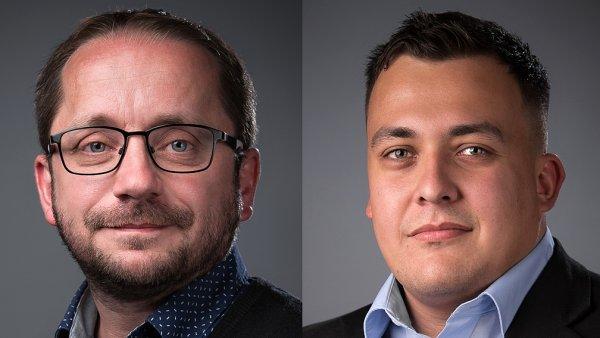 Martin Křivský a Jakub Lorenc, agentura AMI Digital