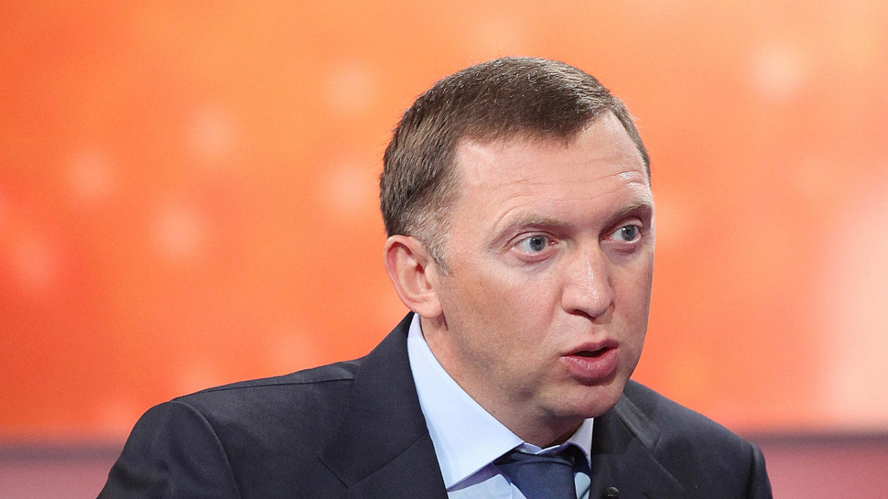 Ruský oligarcha Oleg Děripaska.