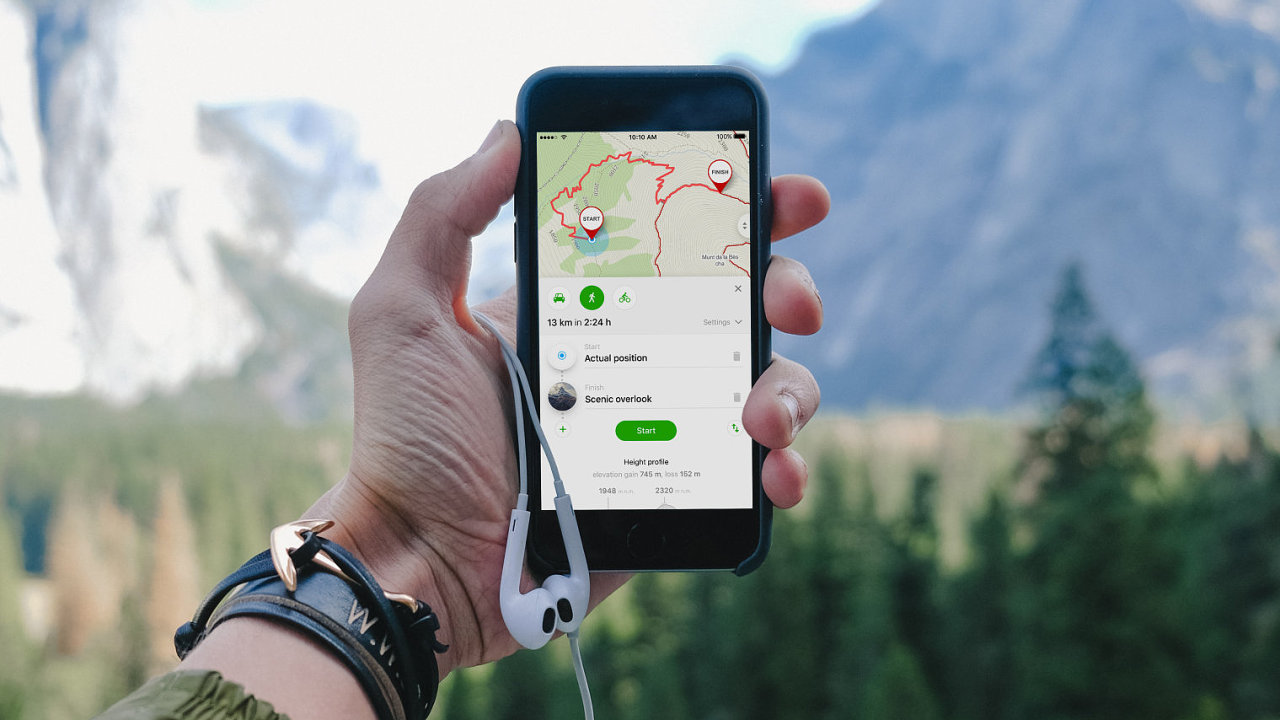 Globální turistické mapy Windy Maps mají verzi pro Android i iOS