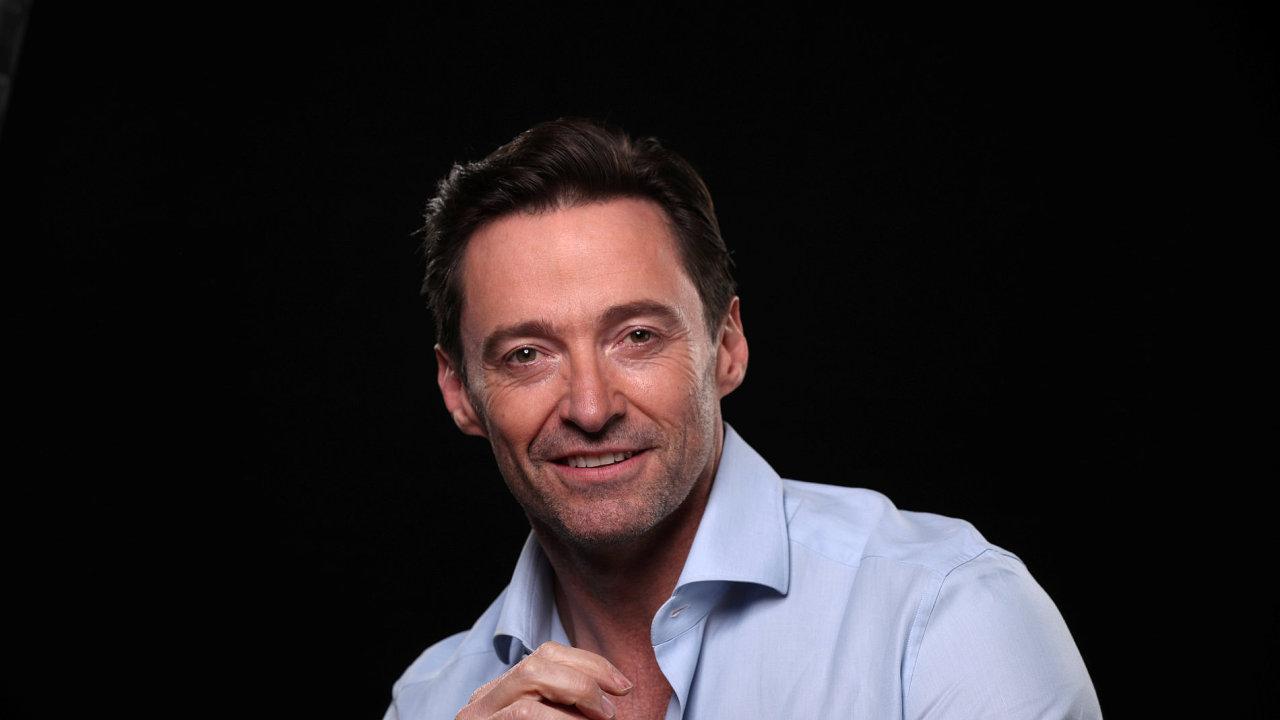Na aktuálním portrétu ze začátku měsíce z americké Kalifornie je herec Hugh Jackman alias Wolverine.